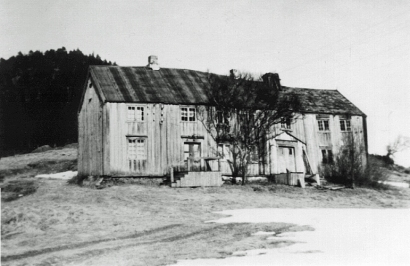 Bjørg. Gammelstu ca. 1960