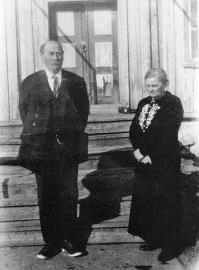 Bjørg. Olaf og Anne