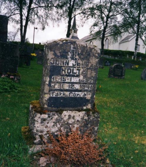 John Holt gravstein001r