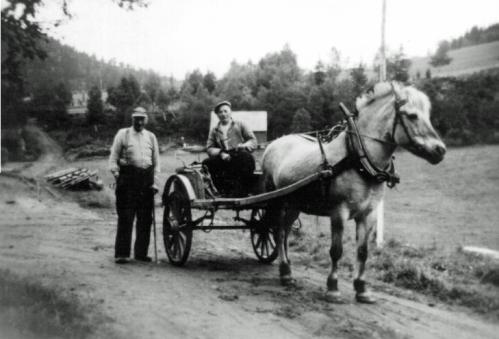 Ner-bjørg. Olaf og Anton
