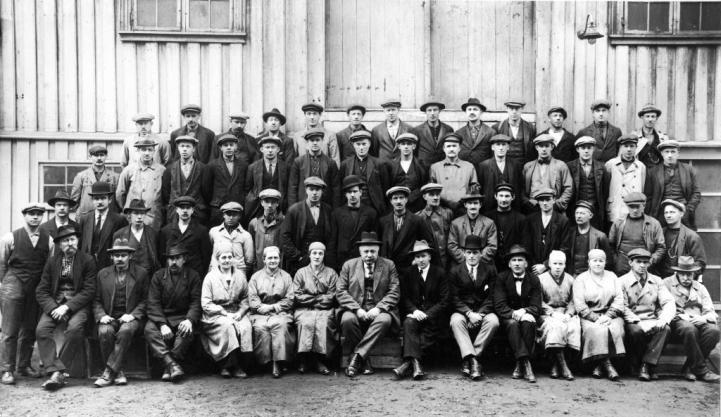 Jernindustrien 1925