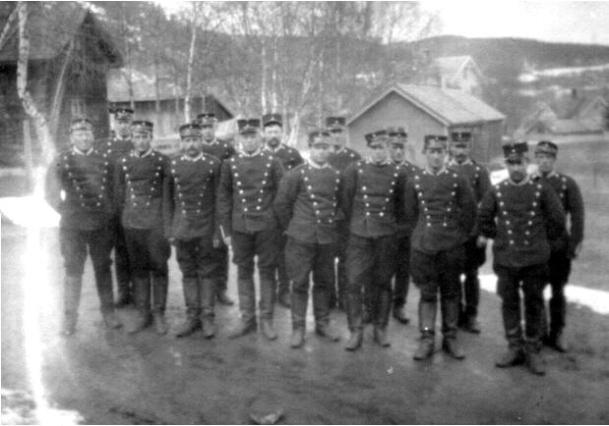 Rinnleiret, dragoner 1916